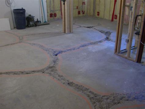 level floor basement basement paint