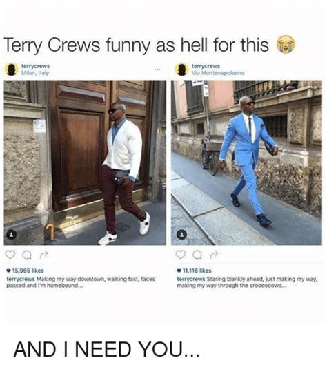 terry crews making my way downtown 25 best memes about making my way downtown walking fast