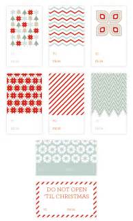 Retro type gift tag printable how cute are these holiday gift tags