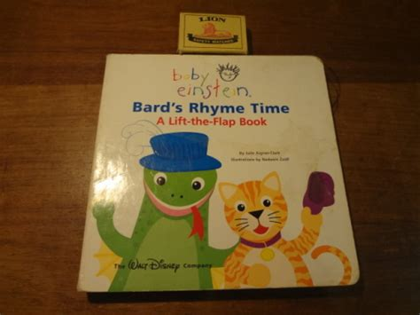 Baby Einstein Lift Flap Soundbook picture books baby einstein bard s rhyme time a lift