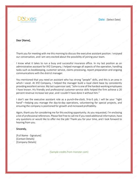 Thank You Letter Email Format After Follow Up Email After Thank You Letter Sle Cover Letter Templates
