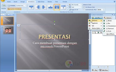 Cara Membuat Video Presentasi Power Point | cara membuat presentasi di microsoft powerpoint video