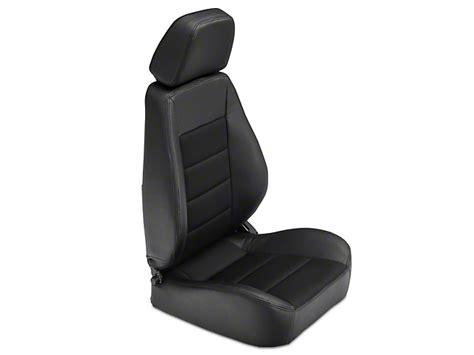 corbeau sport seat black vinyl corbeau wrangler sport seat black vinyl cloth pair