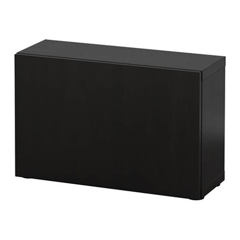 ikea besta black brown best 197 shelf unit with door lappviken black brown ikea