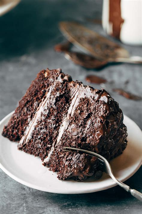 Chocolate Cakes by Blackout Chocolate Cake Recipe Pinch Of Yum