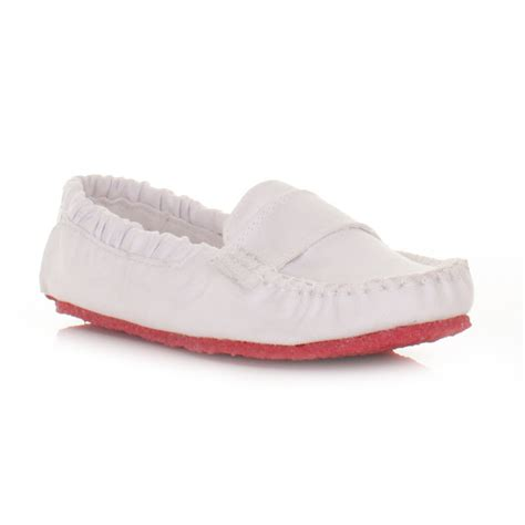 white flat shoes for womens mocks saddle white canvas slip on loafers