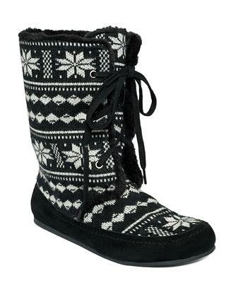 macy s lucky brand boots lucky brand gwendi slipper boots shoes macy s