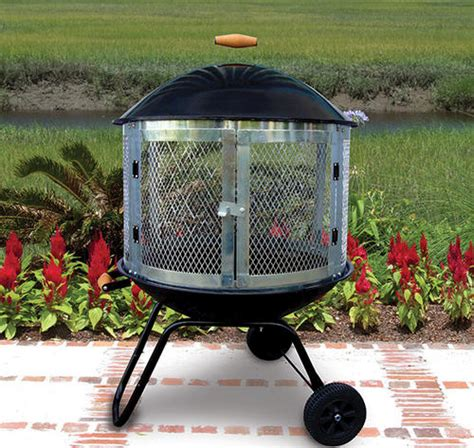 backyard portable fire pit backyard creations 28 quot portable fire pit at menards 174