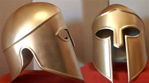 How To Make A Helmet Out Of Paper Mache - how to make a metal spartan helmet