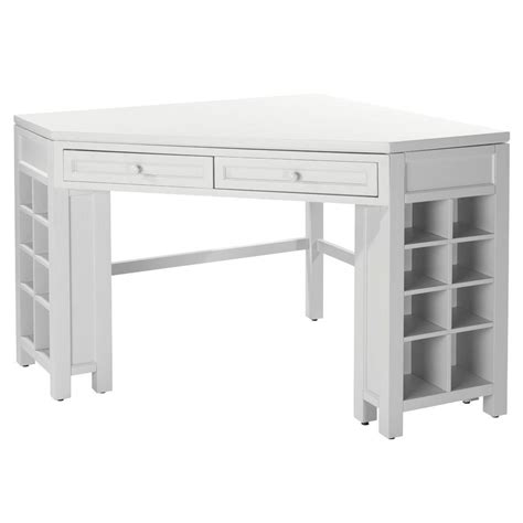 Home Decorators Craft Table Home Decorators Collection Picket Fence Corner Craft Table 0795200400 The Home Depot