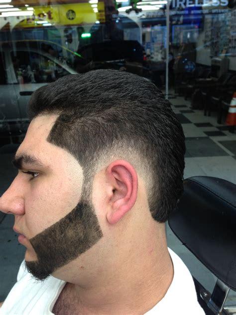 hair burst number burst fade mohawks pinterest