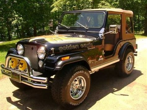 jeep golden eagle for sale golden eagle edition 1978 jeep cj5 v8 bring a trailer