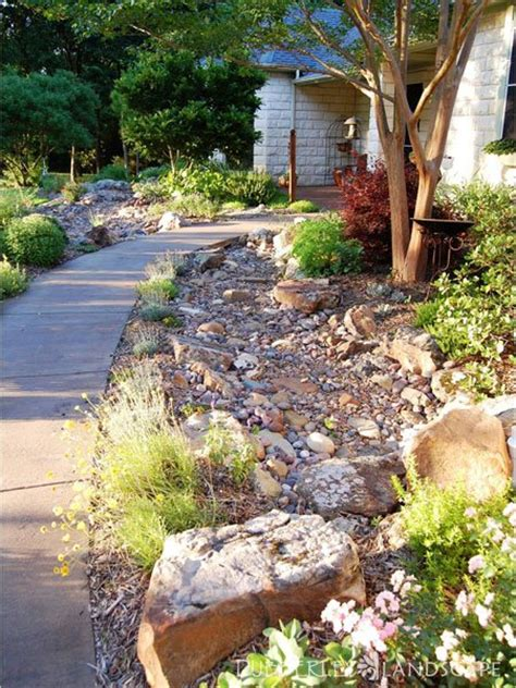 stream bed dry stream bed gallery dubberley landscape plano texas