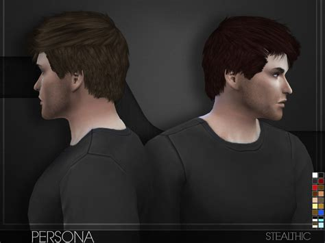 sims 4 cc guys hair stealthic persona male hair