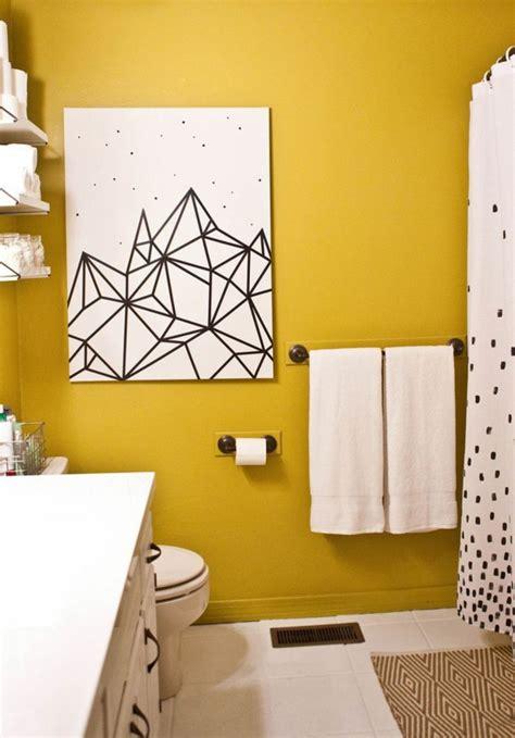 Wandfarbe Gelb Kombinieren by Wandfarbe Gelb Eine Sonnige Stimmung Im Badezimmer Haben