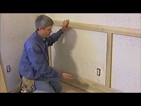 how to finish wainscoting corners trim carpentry wainscoting