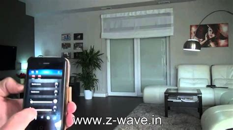 z wave simple home automation in india demo