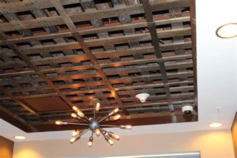wood slat ceiling system classic coffers gallery historic timber and plank