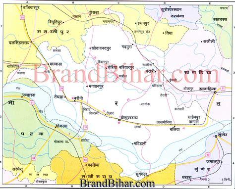 map of begusarai district begusarai map map of begusarai bihar begusarai district map