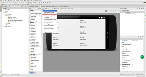 layout landscape android studio android studio layout w600dp doesn t work on landscape