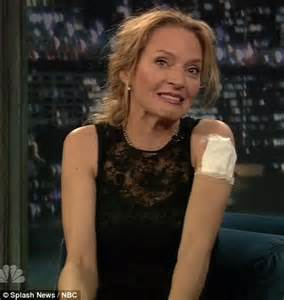 jimmy fallon tattoo uma thurman reveals new in tribute to jimmy fallon