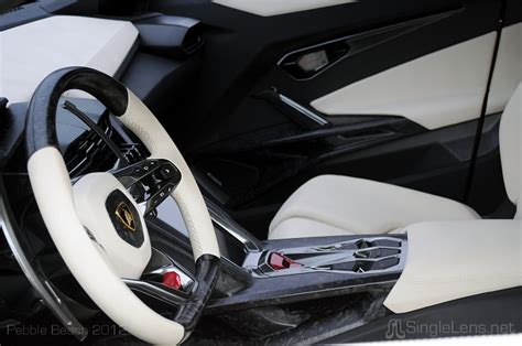 Urus Lamborghini Interior by Pebble Concours Delegance 2012 Singlelens Photography