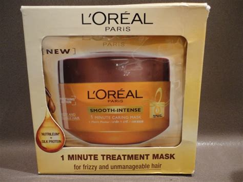 L Oreal Smooth Mask l oreal smooth 1 minute caring mask review