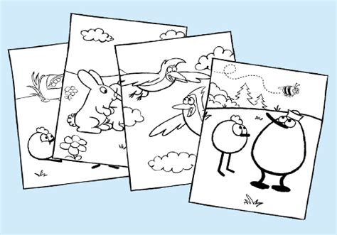 Home Science And Math Activities And Videos For Preschool Peep And The Big Wide World Coloring Pages