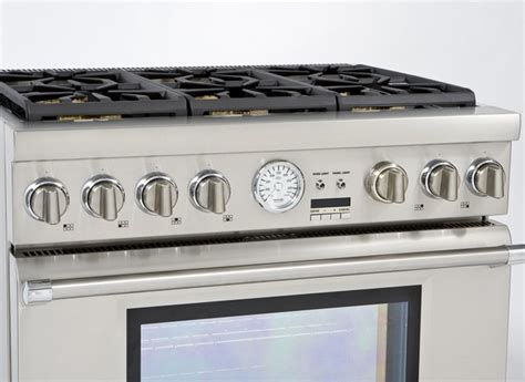 thermador appliances reviews thermador prg366jg range consumer reports