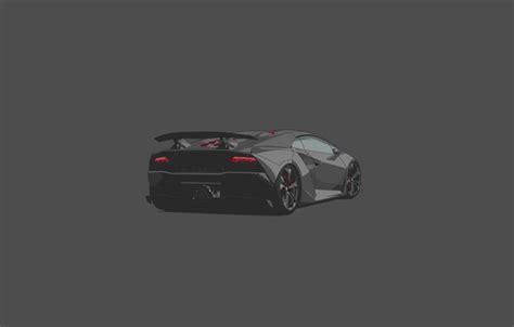 Lamborghini Sesto Elemento Rear обои Lamborghini Car Grey Sesto Elemento Rear