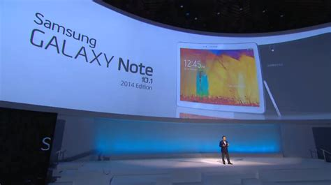 samsung galaxy note 10 1 2014 edition officially announced