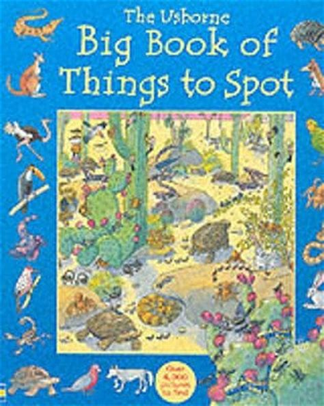Usborne Book Of Things To Spot Out And About Board Book 1 the usborne big book of things to spot by gillian doherty reviews discussion bookclubs lists