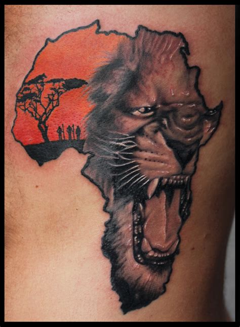 africa tattoo tattoos and designs page 34