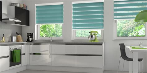 Kitchen Roller Blinds Vision Blinds Bolton Duo Roller Blinds With Free