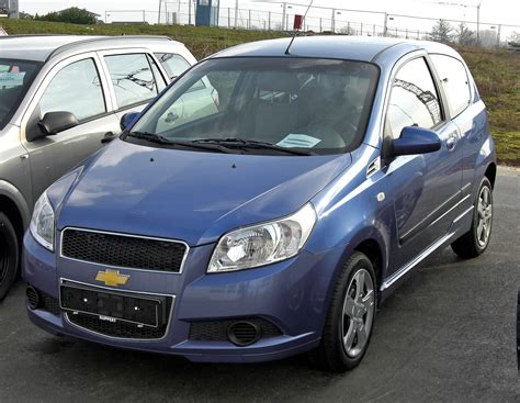 how petrol cars work 2009 chevrolet aveo navigation system file chevrolet aveo 20090307 front jpg wikimedia commons