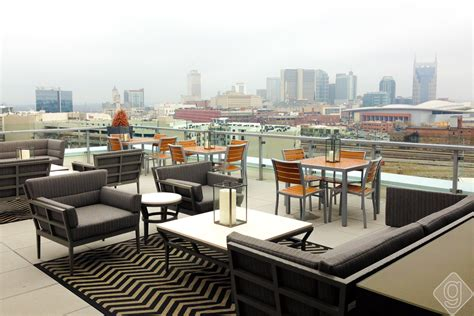 Top Bars In Nashville by Up Rooftop Lounge Grand Opening Celebration Nashville Guru