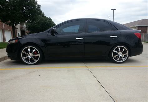 2010 black kia forte black kia forte 4 door sedan tuning with photos