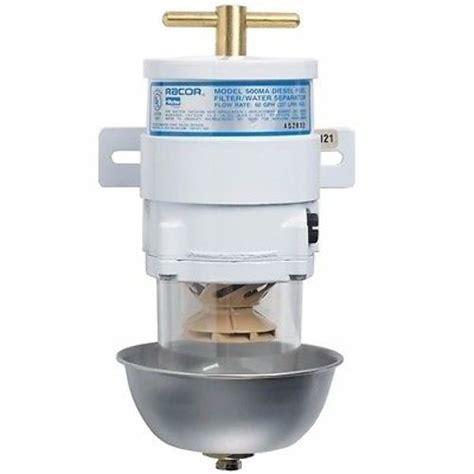 parker boats fuel efficiency racor fuel filter water separator 60 gph marine turbine