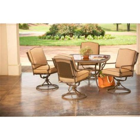 Martha Stewart Living Mallorca 5 Piece Patio Dining Set Martha Stewart Patio Furniture Sets