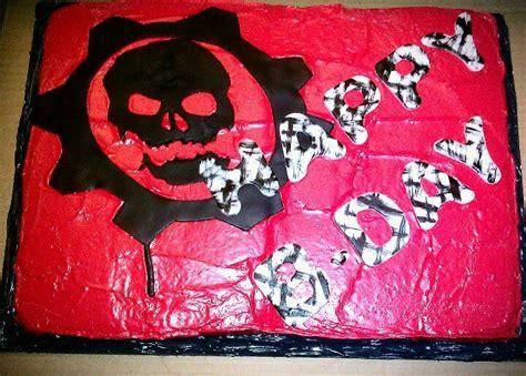 gears of war birthday cake from sweet dreams bakery tennessee gears of war birthday cake cakes by roslyn b pinterest