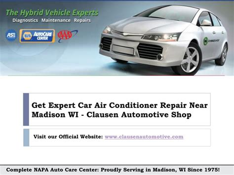 fix car air conitioner  madison wi