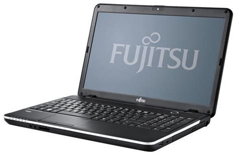 Hardisk Laptop Fujitsu an angled front of the fujitsu lifebook ah512 with lip open