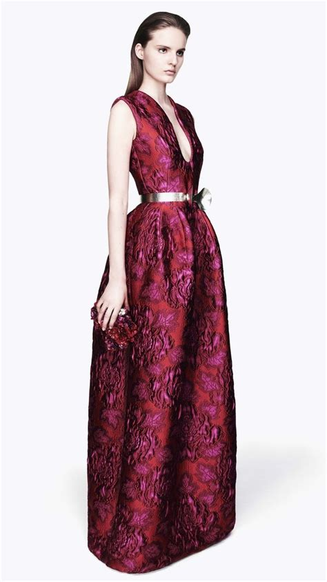 Keying In On Timeless Style 2 by Mcqueen Fall 2012 Burgundy Purple