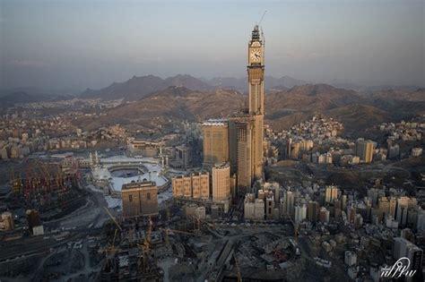 al abraj the abraj al bait towers in mecca saudi arabia