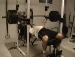 bench lockout lockout partial bench press exercise