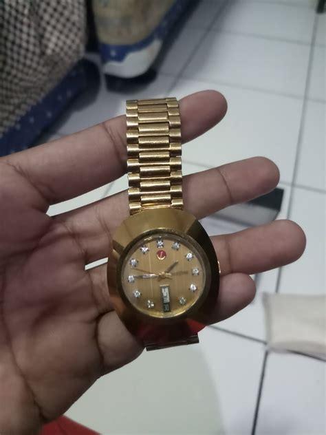 Jam Tangan Rado Gold jamtangan original swiss made rado diastar gold