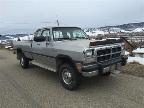 w250 dodge for sale truck for sale 1992 dodge cummins turbo diesel w250