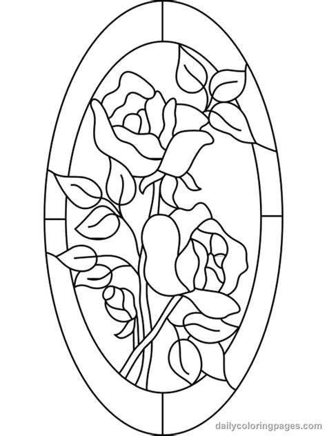 beauty and the beast stained glass coloring pages beauty and the beast stained glass coloring page free