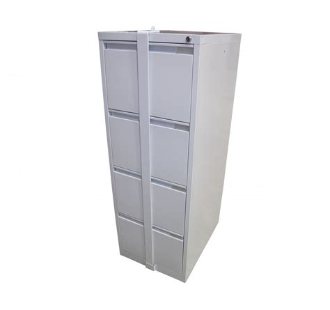 Locking File Cabinet by 4 Drawer Locking Bar Filing Cabinets 4dfcmlb Steelco