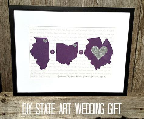 wedding gifts diy inexpensive wedding gift diy state rosy events